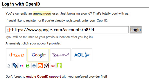 Login With OpenID